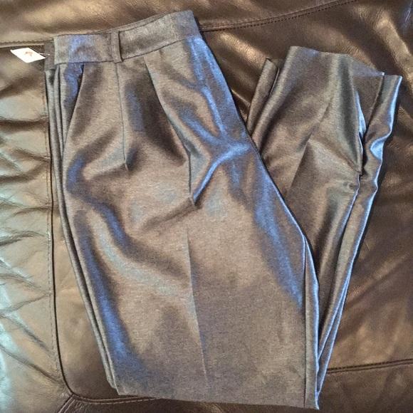 she said Pants - Sexy Gray Ankle Pants by She Said size 12